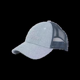 Kentucky Wool Trucker Cap - Light Blue
