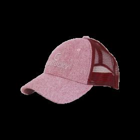 Kentucky Wool Trucker Cap - Light Pink