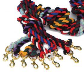Rhinegold Twin Coloured Lead Ropes