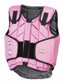 USG Eco Flexi Body Protector Child  Pink