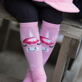 Equetech Childs Unicorn Long Riding Socks