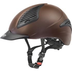 Uvex Exxential Riding Hat - Brown