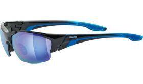 Uvex Blaze III Eyewear Black - Blue