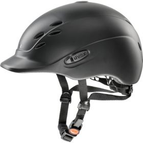 Uvex Onyxx Hat -Black Matt -49-54cm - XXXS-XS - Uvex Riding Helmets
