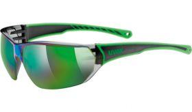 Uvex Sportstyle 204 Eyewear Black - Green