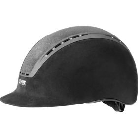 Uvex Suxxeed Glamour Riding Hat  Black