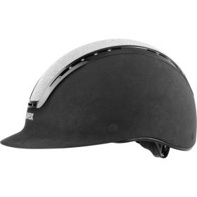 Uvex Suxxeed Glamour Riding Hat  Black - Silver