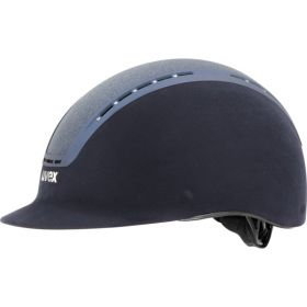 Uvex Suxxeed Glamour Riding Hat  Navy