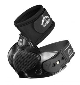 Veredus Piaffe Shield Overreach Boots  Black