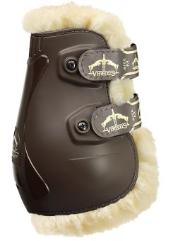 Veredus Pro Jump Velcro Save the Sheep Fetlock Boots  Brown