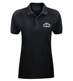 Veredus Womens Polo Shirt  Black