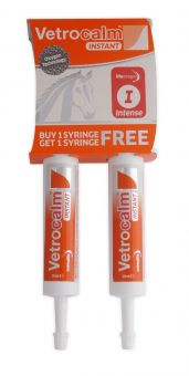 Animalife Vetrocalm Intense Instant twin pack syringe 2x25ml