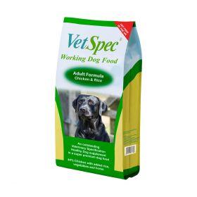 VetSpec Working Dog Adult Formula 15kg