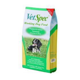 VetSpec Working Dog Puppy & Junior Formula 15kg
