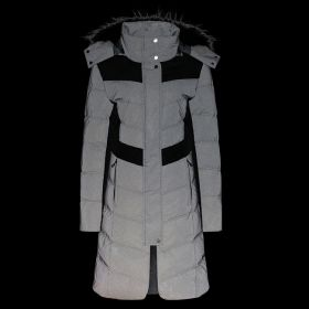 Equetech Vision Long Padded Reflective Coat