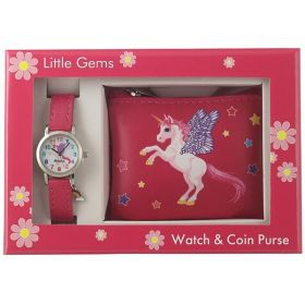Ravel Gems Watch and Purse Gift Set