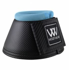Woof Wear Pro Overreach Boot Colour Fusion - WB0051 - Small - Black & Powder Blue - Clearance