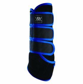 Woof Wear Training Wrap - Black Electric Blue