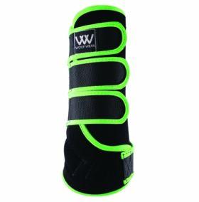 Woof Wear Dressage Wrap Colour Fusion - WB0061 Black - Lime