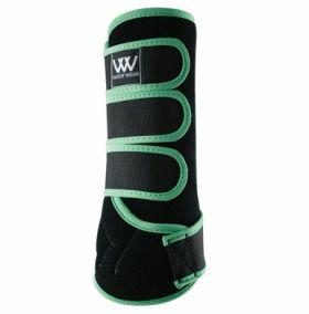 Woof Wear Dressage Wrap Colour Fusion - WB0061 Black - Mint Green
