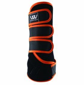 Woof Wear Dressage Wrap Colour Fusion - WB0061 Black - Orange