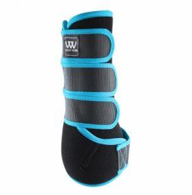 Woof Wear Dressage Wrap Colour Fusion - WB0061 Black - Turquoise