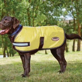 WeatherBeeta Reflective Dog Coat Yellow