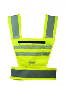 Weatherbeeta Reflective Harness Hi Vis Childs Fluorescent Yellow - WeatherBeeta