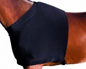 Weatherbeeta Stretch Shoulder Guard  Black
