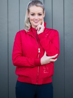 PS of Sweden Wera Jacket - Red-Large Clearance