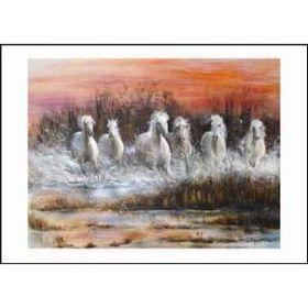 Diane Hennchen White Horses