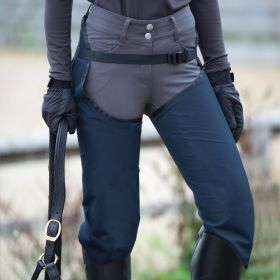 Equetech Waterproof Riding Chaps - Navy