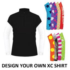 Equetech Mens Custom Unisex Cross Country Shirt