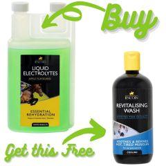 Lincoln Liquid Electrolytes 1ltr + FREE Lincoln Revitalising Wash 500ml  - Lincoln