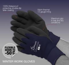 LeMieux Yardmaster Thermal Work Gloves