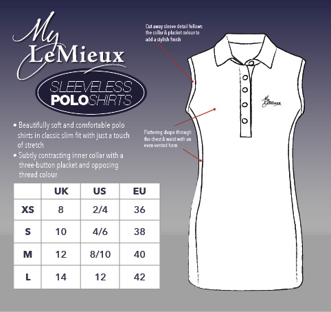 My LeMieux Sleeveless Polo Shirt