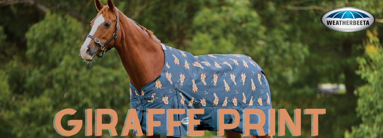 Weatherbeeta Giraffe Print