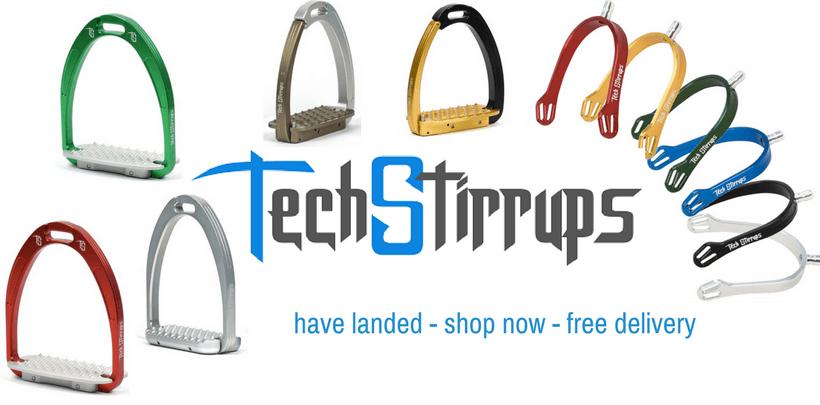 tech stirrups have arrived