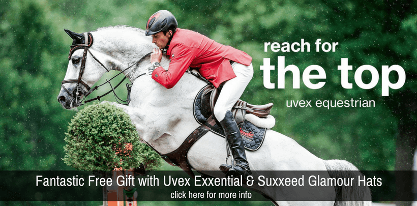 Free Gift With every Uvex Glamour or Uvex Exxential Hat Purchased